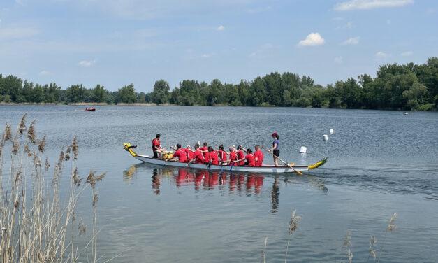Ohlédnutí – Dračí lodě na Vrbickém jezeře u Bohumína
